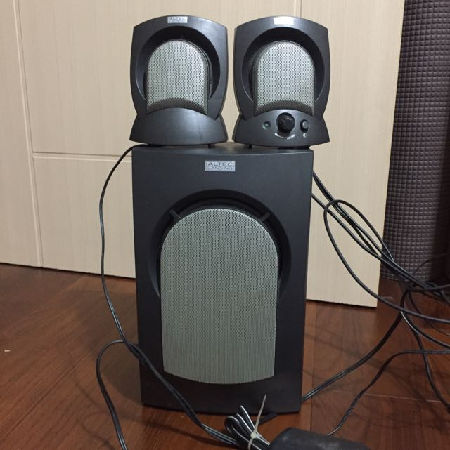 三件式電腦喇叭