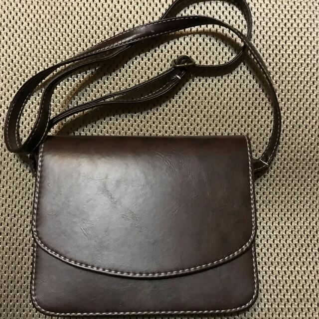 質感氣質棕色單層小包包 郵差包