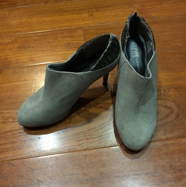 達芙妮踝靴 25號