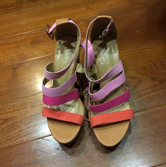 達芙妮涼鞋 25號