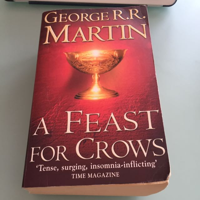 A Feast For Crows Book By George Martin