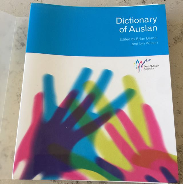 AUSLAN dictionary