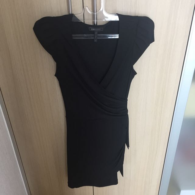 Authentic BCBG Black Dress XXS