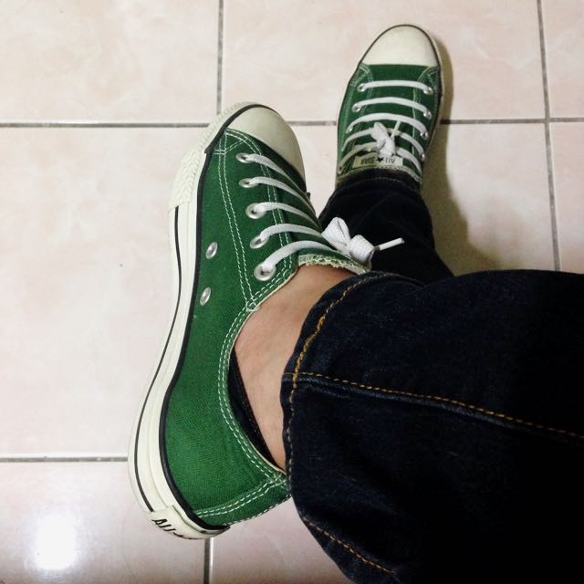 Authentic Converse Green