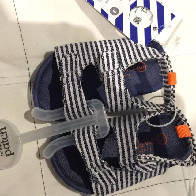 Baby Boys Pumpkin Patch Sandals Size 3 Brand New With Tags