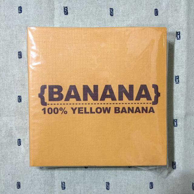 韓國Banana筆記本/便條紙