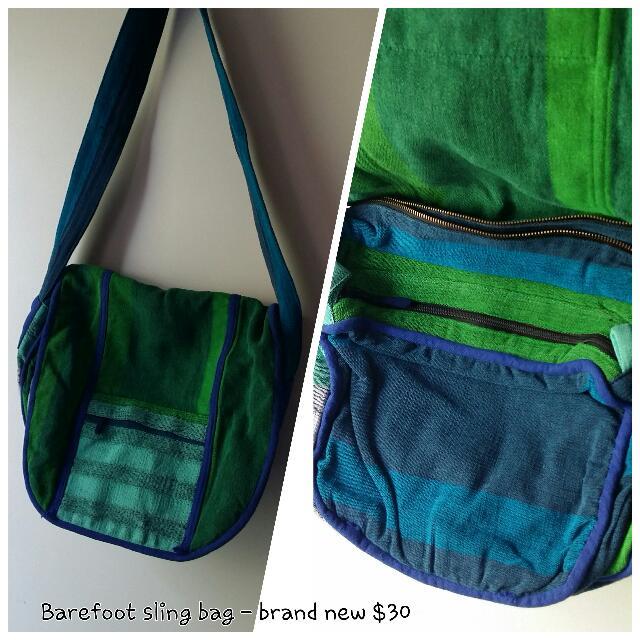 Barefoot Ethnic Tribal Sling Bag Indian