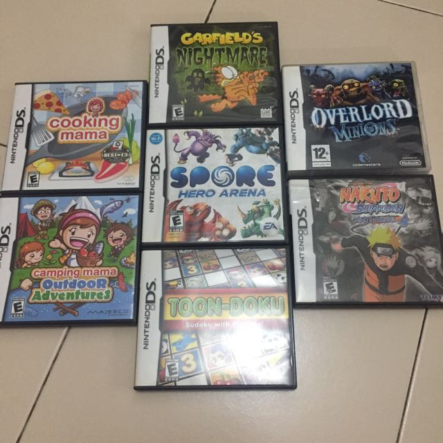 Nintendo Ds Games Toys Games Video Gaming Video Games On Carousell