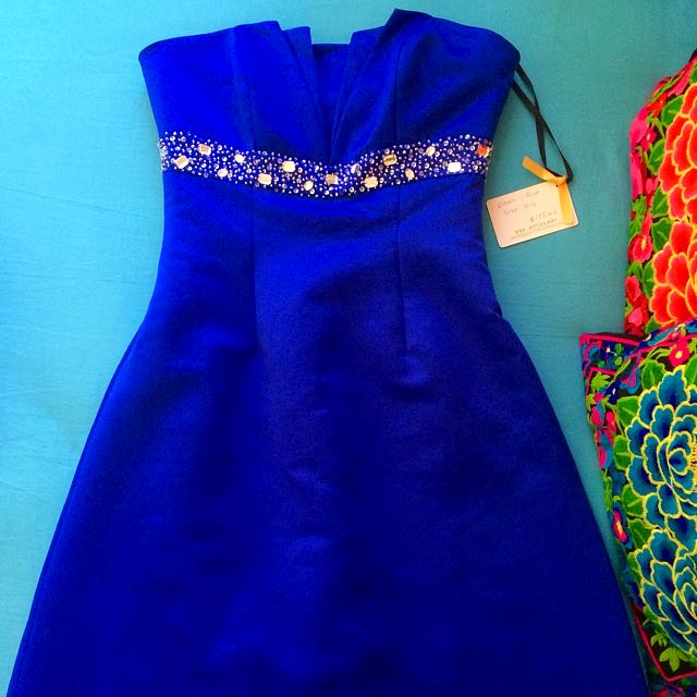 Blue Short Formal Dress | 8-10