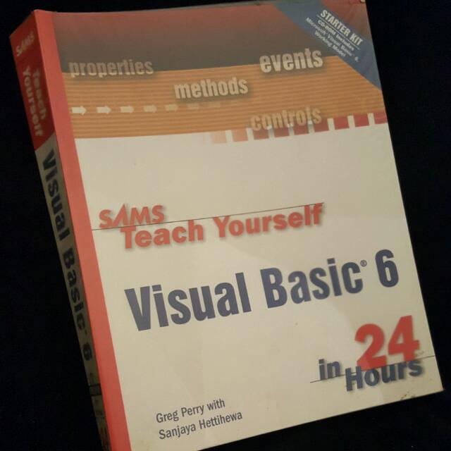 Book: Visual Basic 6 In 24 Hours