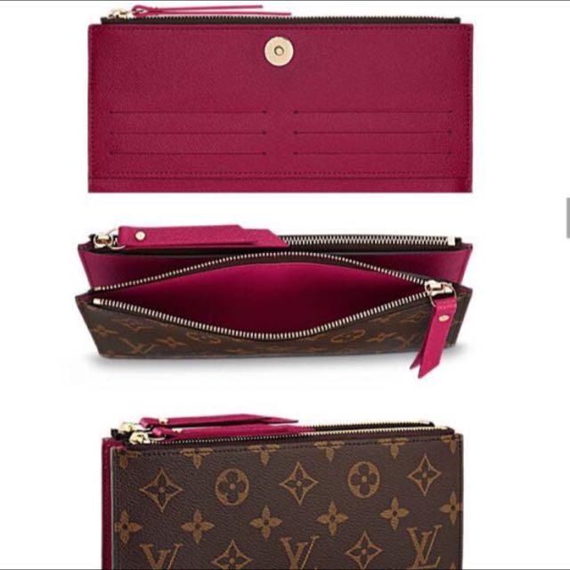 f0bba877b4f Brand New Louis Vuitton Adele Wallet, Luxury, Bags & Wallets on ...