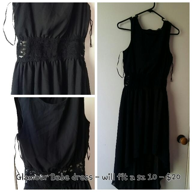 Bridesmaid, Summer Or Casual Little Black Dress