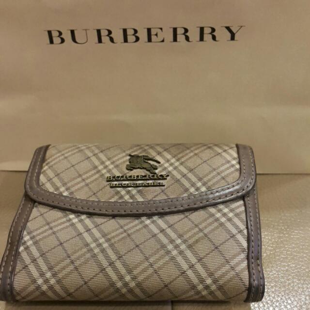 (降)burberry短夾(日本購入)