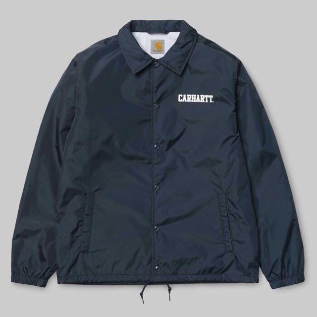 Carhartt wip college coach jacket 教練外套 深藍色