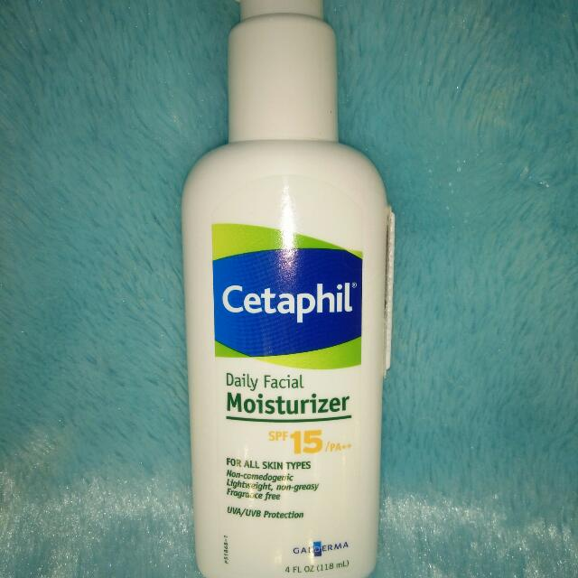 Cetaphil Daily Facial Mousturizer (Spf 15/pa++)