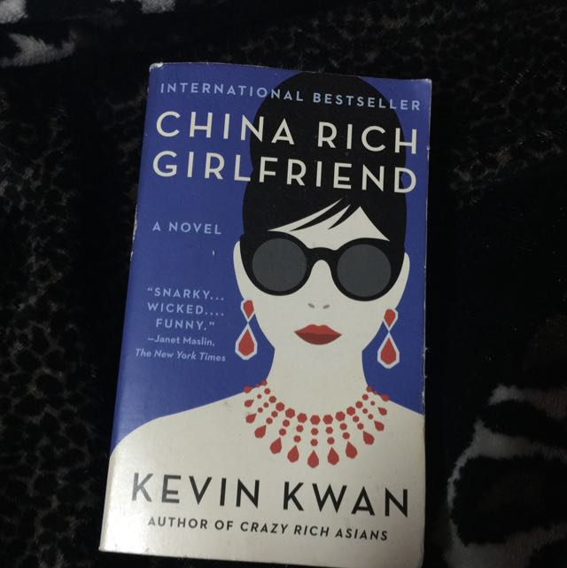 China Rich Girlfriend (Sequel To Crazy Rich Asians)