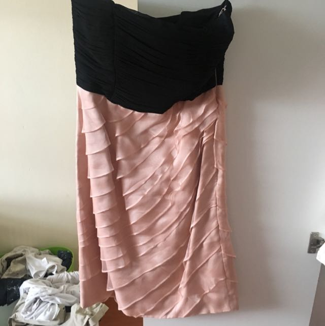 Coast Strapless Dress Size 8💕