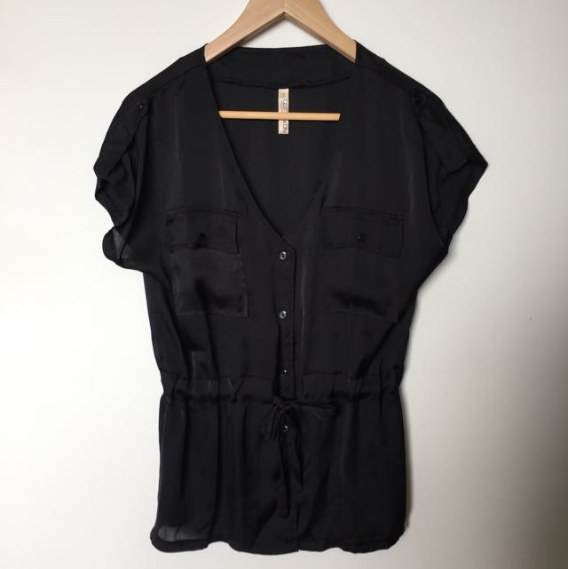 Cotton On Black Top Size S