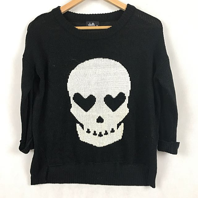 Dotti - Knit Scull Sweater