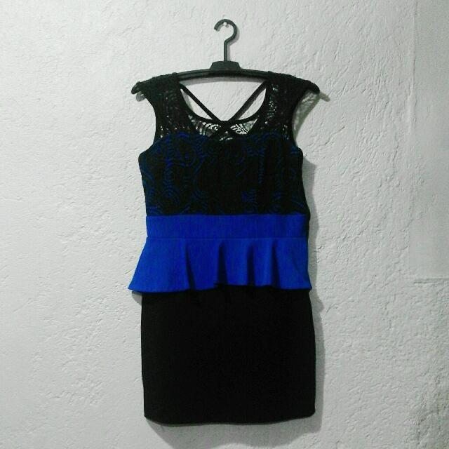 Soiree: Peplum Dress