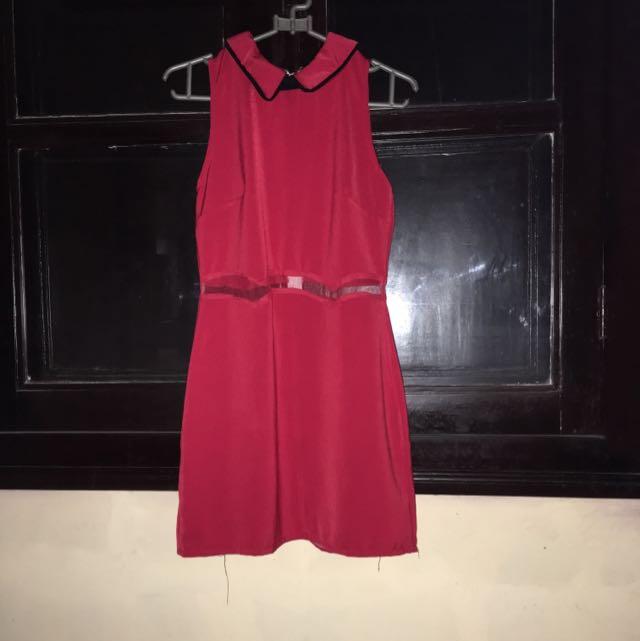Dress Merah Bangkok