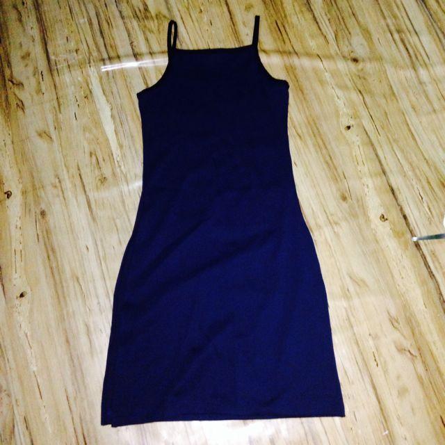 DRESS with 2 side slits