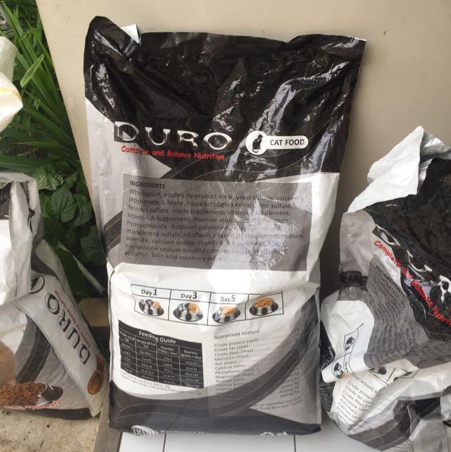 DURO CAT FOOD 20kg