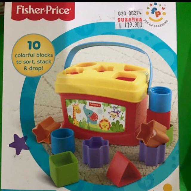 Fisher Price First Blocks