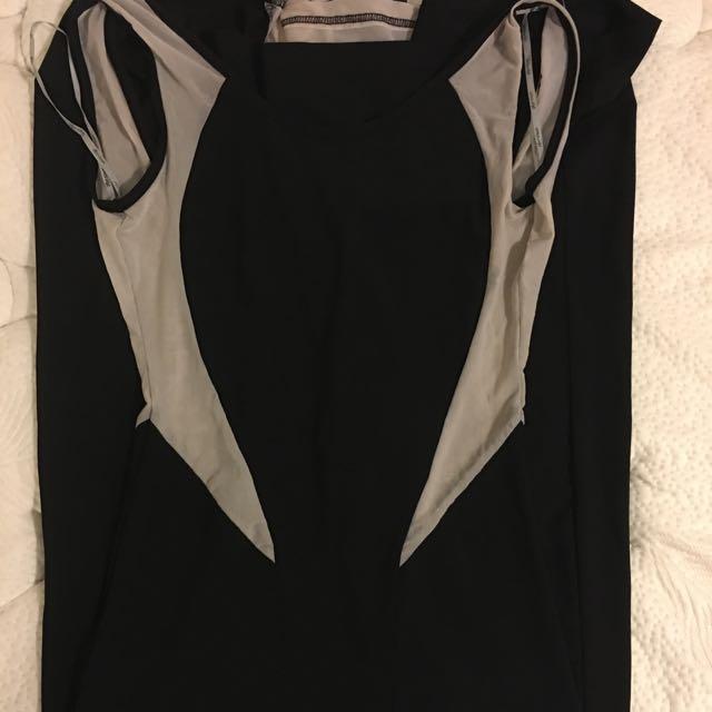 Floor Length Maxi Dress, Size S
