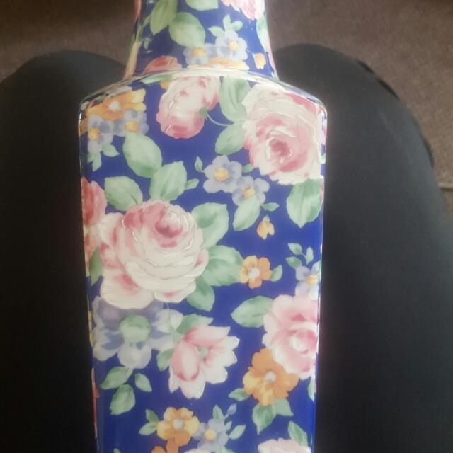 Floral Printed Vase