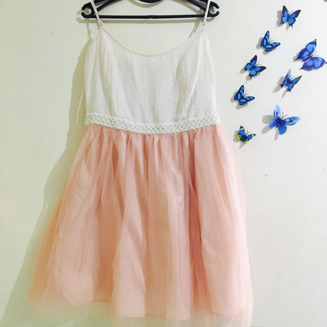 Forever 21 Pink Tulle Dress