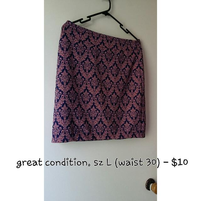 Formal Office Skirt Or Summer Skirt