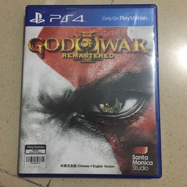 Game PS4 God Of War Remastered