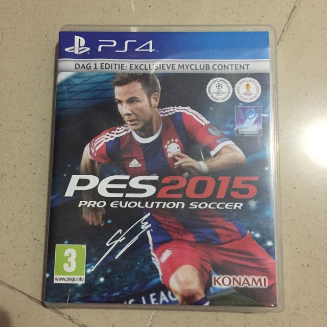 Game PS4 Pes 2015