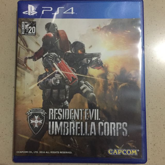 Game PS4 Resident Evil Umbrella Corps
