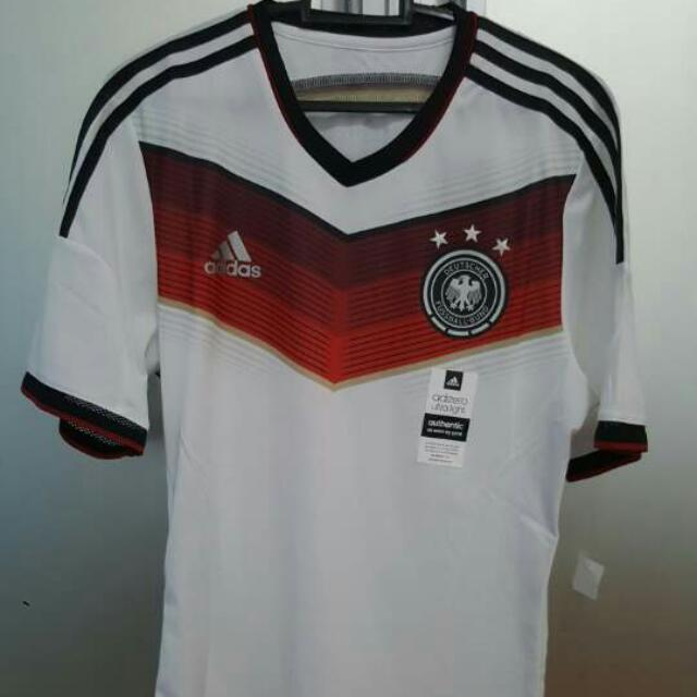big sale b4e0c ff0ac Germany National Football Team Jersey 2014 (BNWT), Sports ...