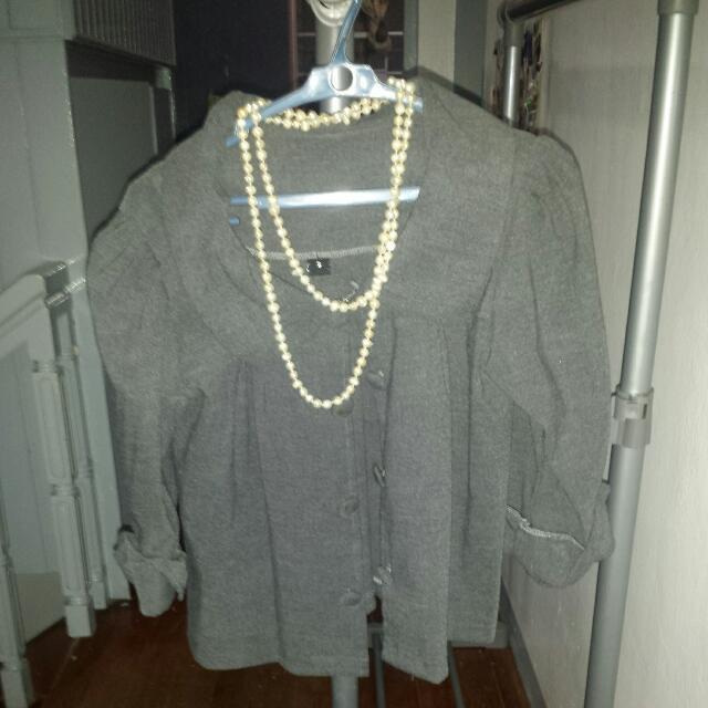 Gray Stylish Blazer