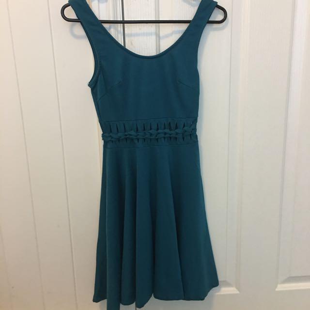Green Dress, Size 6