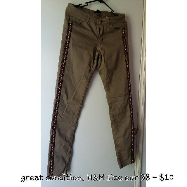 H&M Hippie Pants Bohemian
