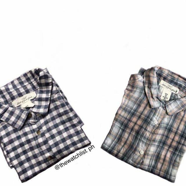 H&M Plaid Button Downs