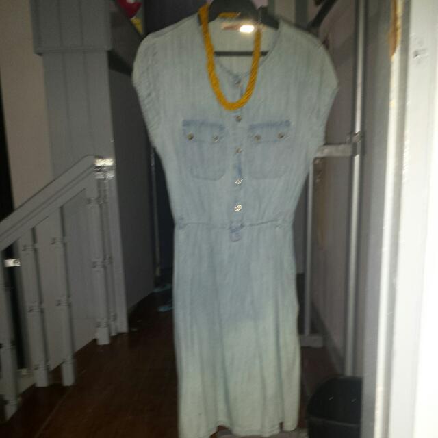 Imported Denim Dress