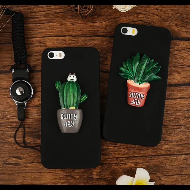 3D iPhone 5s / SE Case With Strap
