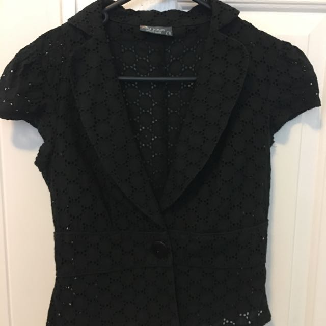 Jacket/over Top, Size 8