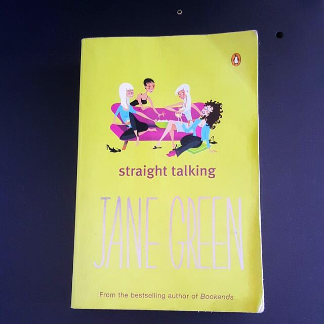 Jane Green - Straight Talking