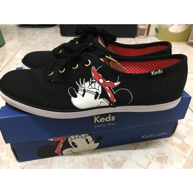 全新)Keds /Minnie Mouse聯名款鞋 38