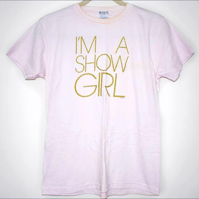 Kylie Minogue 'I'm A Show Girl' Tshirt