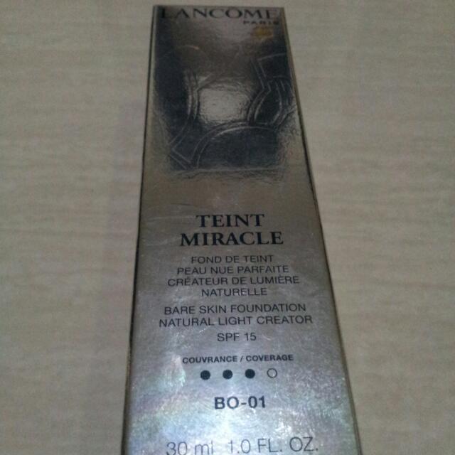 Lancome Teint Miracle BO-01