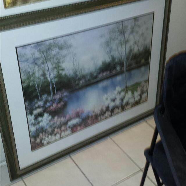 Large Scenic Painting