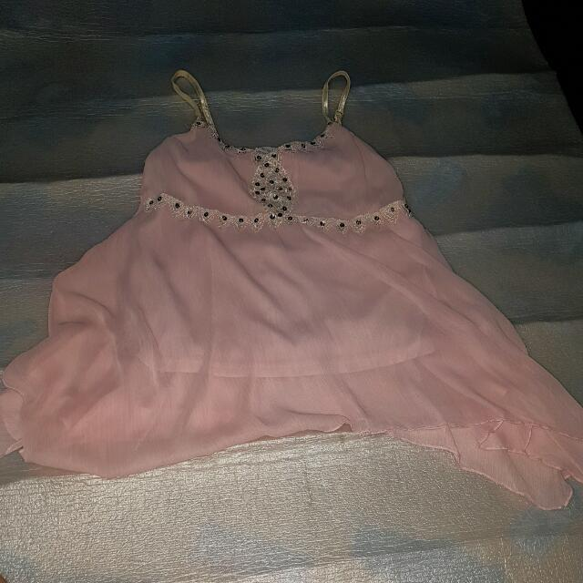 Light Pink Top Pre-loved