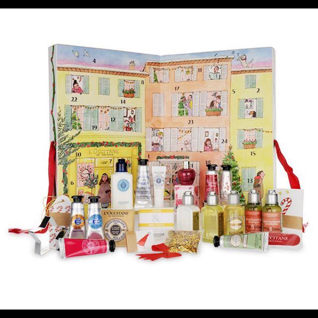 L'OCCITANE 歐舒丹聖誕節日曆禮物盒